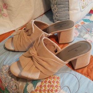 Super chic sandals, sand color